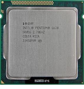 Intel Pentium G630 2.7GHz LGA-1155 Sandy Bridge CPU